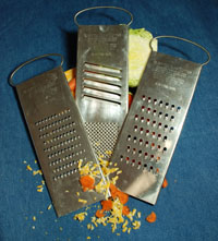 3  Professional Slicer Shredders- Fine to Course...Very Sharp!